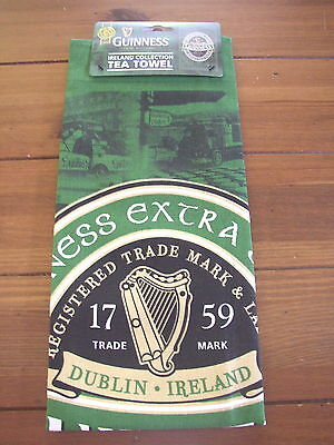 Guinness Green Collection Tea Towel