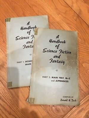 A Handbook of Science Fiction and Fantasy Parts 1 & 2 Donald H Tuck 1959 revised