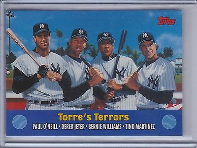O'NEILL/JETER/WILLIAMS/MARTINEZ 2000 Topps Limited Edition Combos #TC3   (B9994)