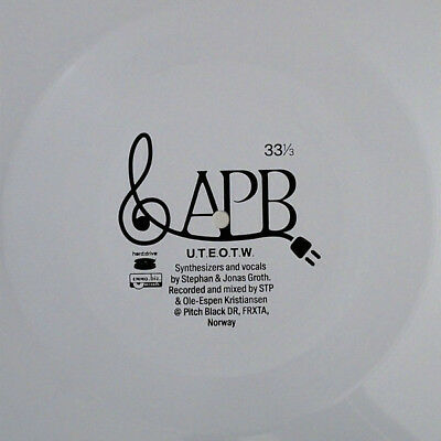 "APOPTYGMA BERZERK Until the End of the World LIMITED 7"" WHITE FLEXI VINYL 2016"