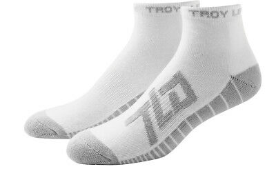 Troy Lee Designs Factory Quarter Socks White