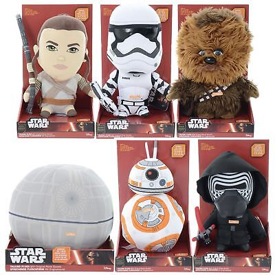 30cm Talking Star Wars Plush Figure Force Awakens Collectible Character Soft Toy