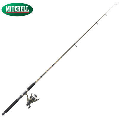 Mitchell Tanager Camo Tele Spinning Combo Angelcombo Angelrute+Angelrolle
