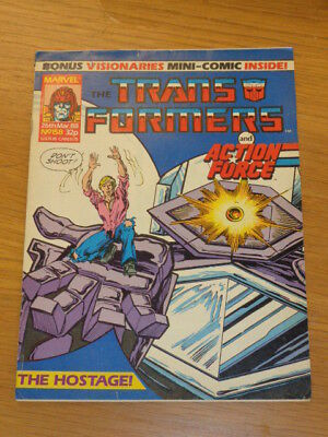 Transformers #158 26Th March 1988 British Weekly Marvel Uk Comic*