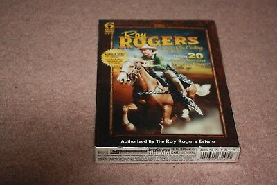 Roy Rogers: King of the Cowboys (DVD, 2010, 6-Disc Set) *Brand New Sealed*