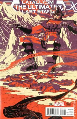 Cataclysm Ultimates Last Stand #5B 2014 VF+ 8.5 Stock Image