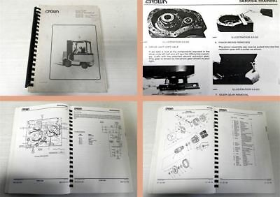 Crown FC/FP series Forklift Trucks Service and Parts Manual 1992