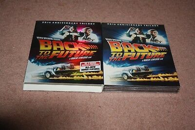 Back to the Future: 25th Anniversary Trilogy (DVD, 2011, 4-Disc Set) *New*