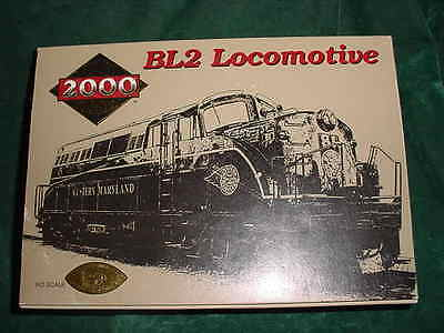 Christmas  Proto 2000 Series Western Maryland Bl2 Locomotive Collectible Trains