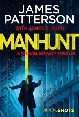 NEW Manhunt By James Patterson Paperback Free Shipping