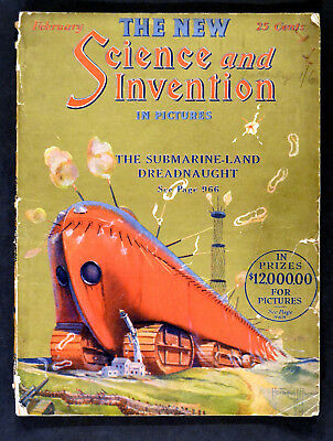 NEW SCIENCE AND INVENTION IN PICTURES 1924 Perpetual Motion US MAGAZINE