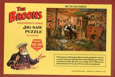 The Broons' Jigsaw Puzzle - Granpaw's Shed (Jigsaw), The Broons, ...