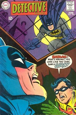 Detective Comics (1st Series) #376 1968 GD/VG 3.0 Stock Image Low Grade