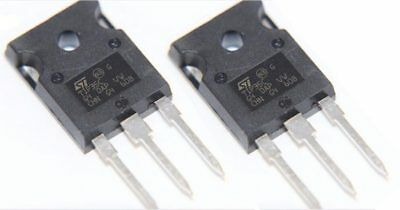 2 x TIP35C NPN Power Transistor TO-3P 100V 25A