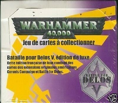 Warhammer 40000 40 Boosters Battle For Delos Vf