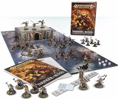 Warhammer Age of Sigmar Thunder & Blood Starter Box NEW
