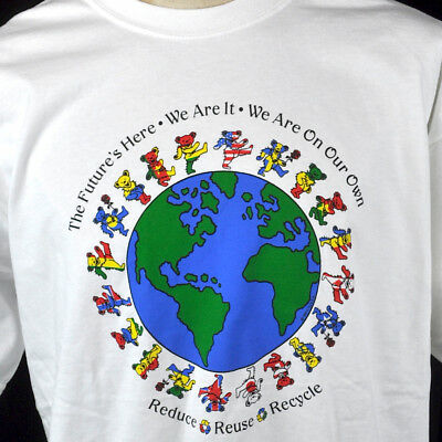 Grateful Dead We Are Future Reduce Reuse Recycle T-Shirt XL Stanley Bears New