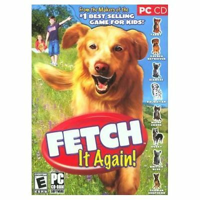 Fetch It Again Petz Dogz Dogs Game PC XP/Vista NEW