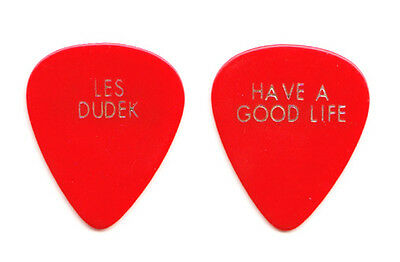 Les Dudek Red Have A Good Life Tour Guitar Pick - Allman Brothers