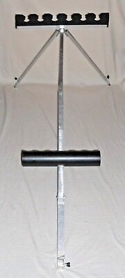 large 6 section pole rocket top kit roost system with extending legs V.G.C.
