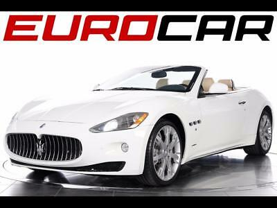 2012 Maserati Other Convertible 2012 Maserati GranTurismo Convertible - 2 OWNER VEHICLE, STUNNING WOOD TRIM
