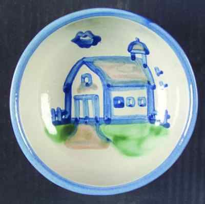 M A Hadley COUNTRY SCENE BLUE Barn Cereal Bowl 5757495