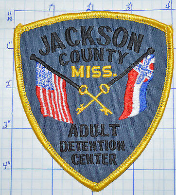 Mississippi, Jackson County Adult Detention Center Sheriff Corrections Patch
