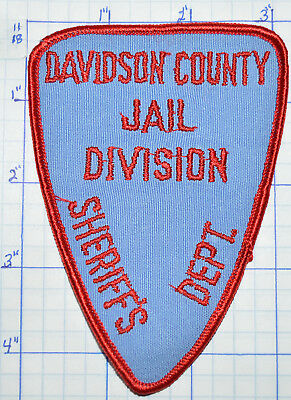 North Carolina, Davidson County Jail Division Sheriff Corrections Patch