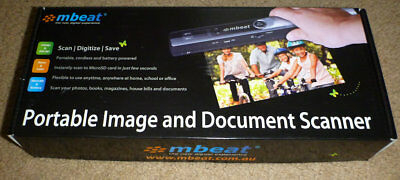 mBeat Portable Image and Document Scanner