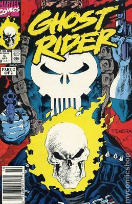 Ghost Rider (2nd Series) #6 1990 VF Stock Image