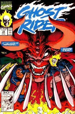 Ghost Rider (2nd Series) #19 1991 VG Stock Image Low Grade