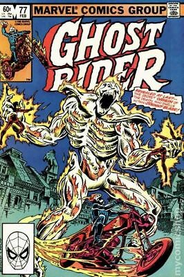 Ghost Rider (1st Series) #77 1983 FN Stock Image