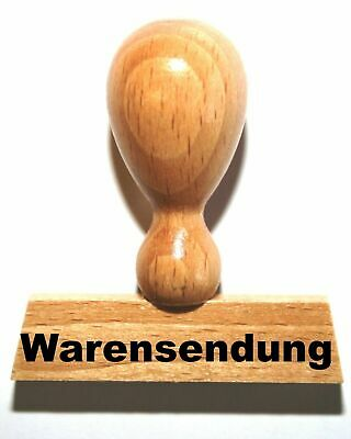 LE-ONs® Holzstempel Professional-Serie L17: Warensendung
