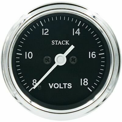 Stack Classic 58mm Historic Rally Race Racing Car Pro-Control Voltmeter Gauge