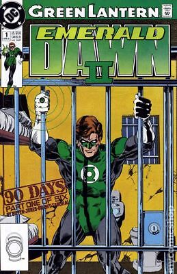 Green Lantern Emerald Dawn II #1 1991 FN Stock Image