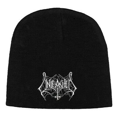 Beanie Mütze - Unleashed - White Logo - Morbid Angel - Carcass - Cannibal Corpse