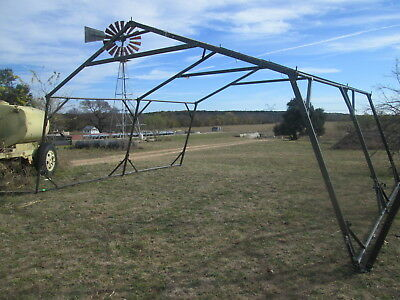 16' x 20' Used Temper Tent Frame, Expandable Tent, Good Cond. Military Tent