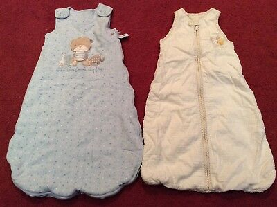 Bundle of 2 Baby sleeping bags aged 0-12 months from George