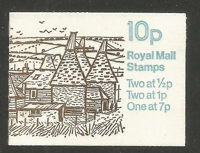 Great Britain 1978 10p Machin definitive booklet--Attractive Topical (BK226) MNH