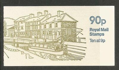 Great Britain 1978 90p Machin definitive booklet--Attractive Topical (BK393) MNH