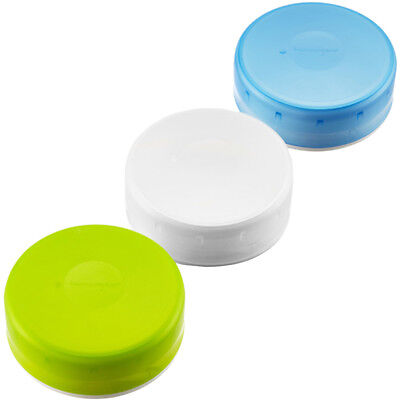 Humangear GoTubb .7 oz Container - 3 Pack - Green/Blue/Clear