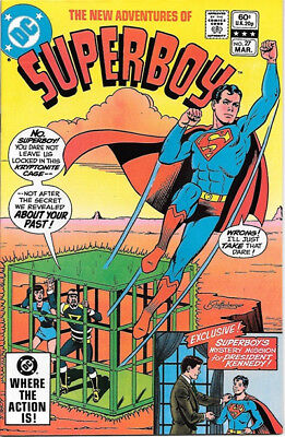The New Adventures of Superboy Comic Book #27 DC Comics 1982 VERY FINE/NEAR MINT