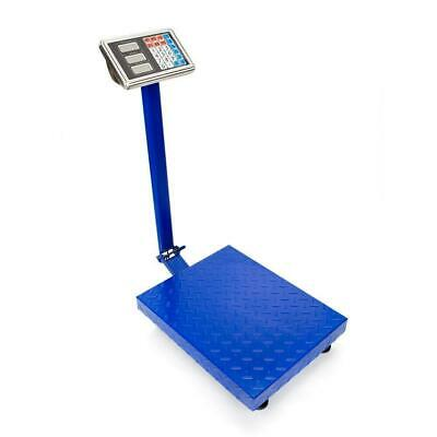 660lb Digital Floor Bench Platform Postal Scale KG/LB 300kg