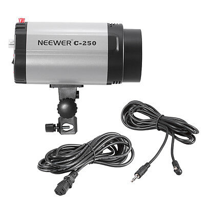 Neewer 250W Studio Strobe Photo Flash Light Photography with 75W Modeling Bulb