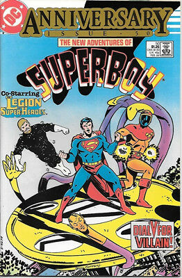 The New Adventures of Superboy Comic Book #50 DC Comics 1984 NEAR MINT