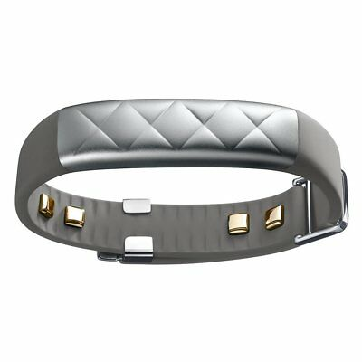Jawbone UP3 Heart Rate Activity and Sleep Tracker Silver Cross