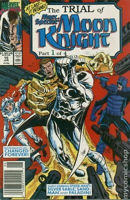 Marc Spector Moon Knight #15 1990 FN Stock Image