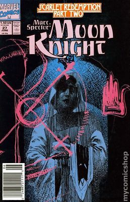 Marc Spector Moon Knight #27 1991 FN Stock Image