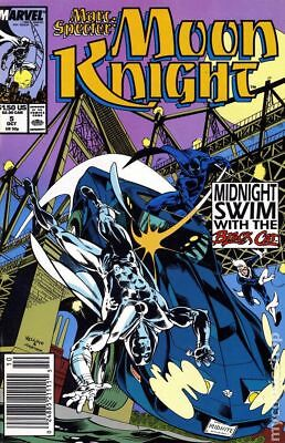 Marc Spector Moon Knight #5 1989 FN Stock Image