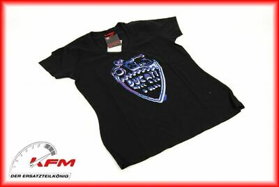 Original Ducati Performance Wear T-Shirt shirt Tshirt Lady shield Größe M Neu